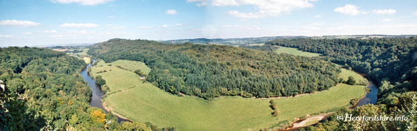 Yat Rock view of Forest of Dean